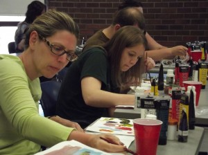 students in seattle art classes