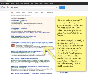 SEO SCREEN SHOT