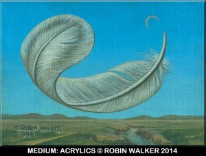 ACRYLIC-FEATHER