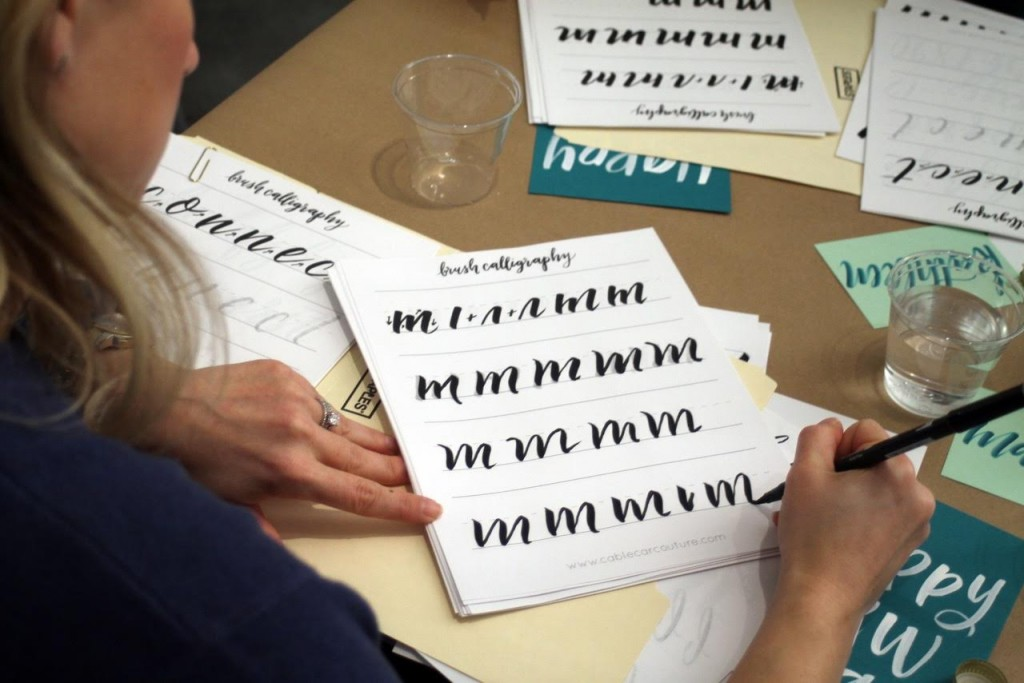 Seattle Calligraphy Classes! Learn Calligraphy in this Seattle class