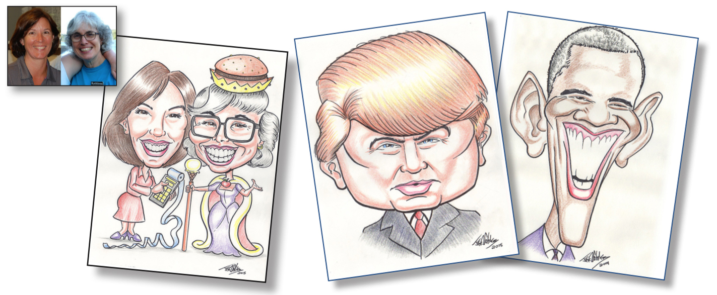 How to Draw Caricatures - Learn How to Draw with Instant Lion